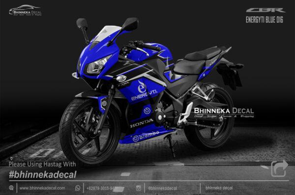 DECAL STICKER CBR K45 DESAIN BLUE ENERGITY-007
