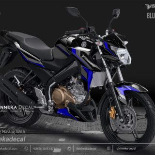 DECAL STICKER VIXION NVA GRAFIS BLUE-006