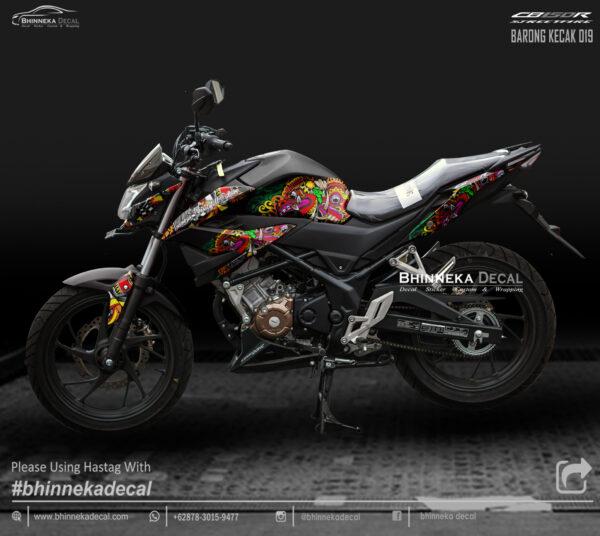 DECAL STICKER CB 150 R 2019 DESAIN BARONG KECAK-001