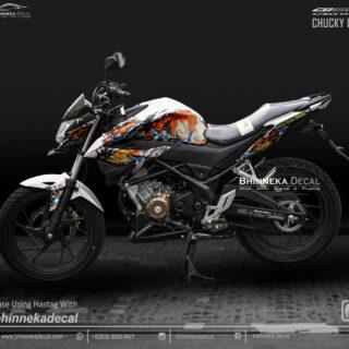 DECAL STICKER CB 150 R 2019 DESAIN CHUCKY-002