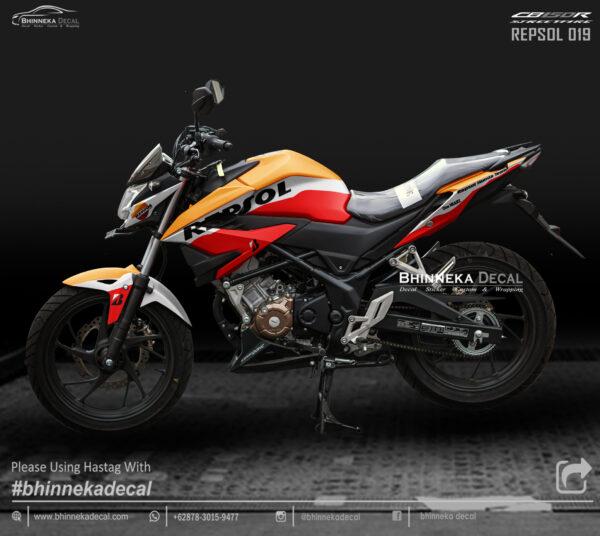 DECAL STICKER CB 150 R 2019 DESAIN REPSOL-005