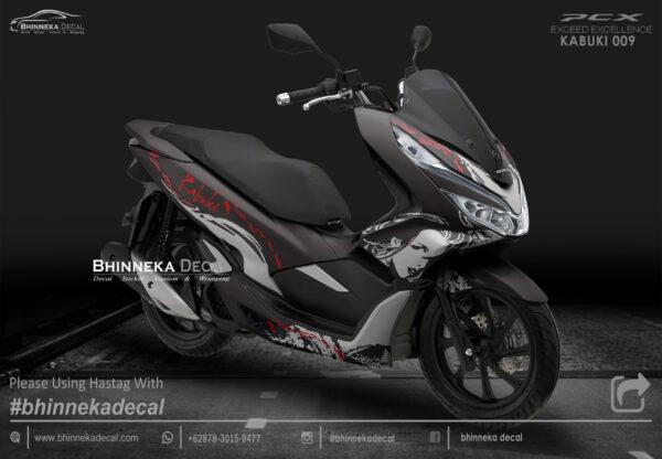 DECAL STICKER HONDA PCX 150 DESAIN KABUKI-011