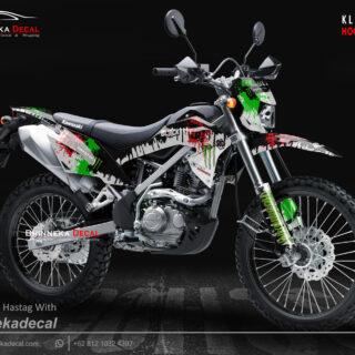 DECAL STICKER KLX BF DESAIN HOONIGAN-013
