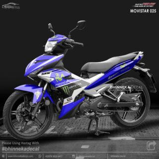 DECAL STICKER MX-KING 150 DESAIN MOVISTAR-008